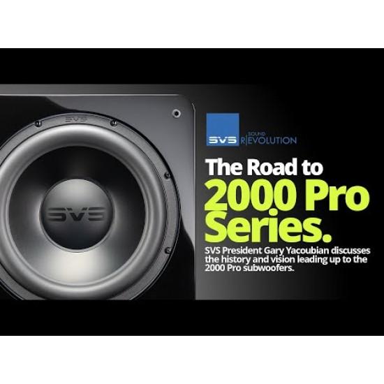 SVS SB2000 PRO BLACK ASH